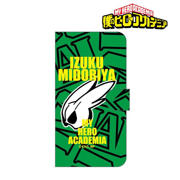僕のヒーローアカデミア 手帳型スマホケース商品画像