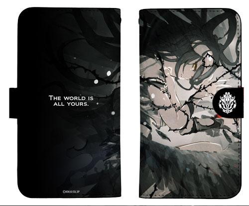 オーバーロードIII アルベド 手帳型スマホケース商品画像